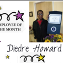 Diedre Howard-Employee of the month