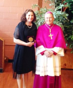 Two recipients of the Vivere Christus award are affiliated with the DPD