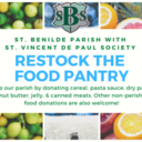 Re-Stock the Food Pantry