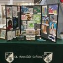 Catholic Schools Week Art Display