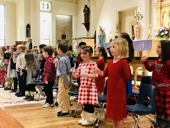 Kindergarten Presents Happy Birthday Jesus