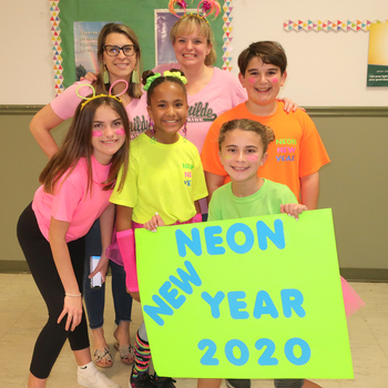 Neon New Years Party