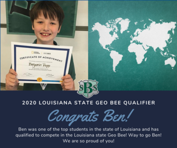 Geo Bee State Qualifier!