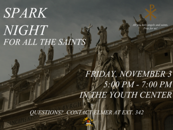 Spark Night: For All the Saints