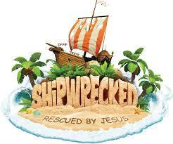 "Vacation Bible School ""Shipwrecked, Rescued by Jesus"""