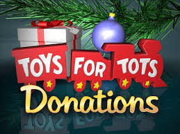 Scouts - Toys for Tots Drive