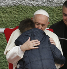 'Is my dad in heaven?' child asks Pope