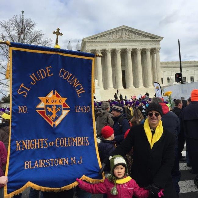 St. Jude Marchers at Supreme Court