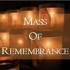 Nov. 10 Mass of Remembrance @ St. Mary 3:00pm