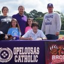 Cain Ludeau Signs with Baton Rouge Community College