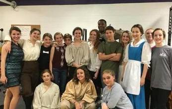 Drama Club Places 1st at District Rally