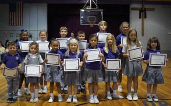 March Christian Students of the Month