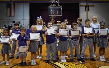April Christian Students of the Month