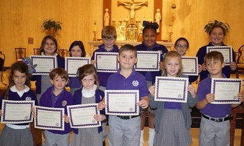 November 2017 Christian Students of the Month