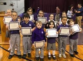 January Christian Students of the Month