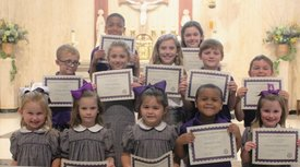 August Christian Students of the Month