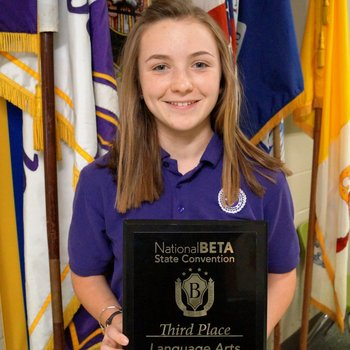 National BETA State Convention winner