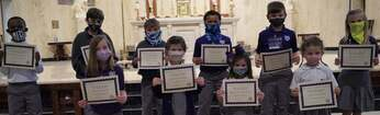 January Elementary Christian Students of the Month
