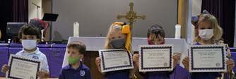 May Pre-K Christian Students of the Month