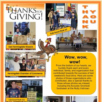Outreach Thanksgiving Food Drive Weekend Photos