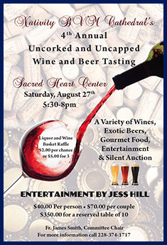 4th Annual Uncorked and Uncapped Wine and Beer Tasting
