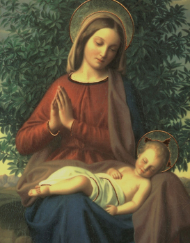 January / Enero 1: Mary, the Holy Mother of God / Maria, Madre de Dios.
