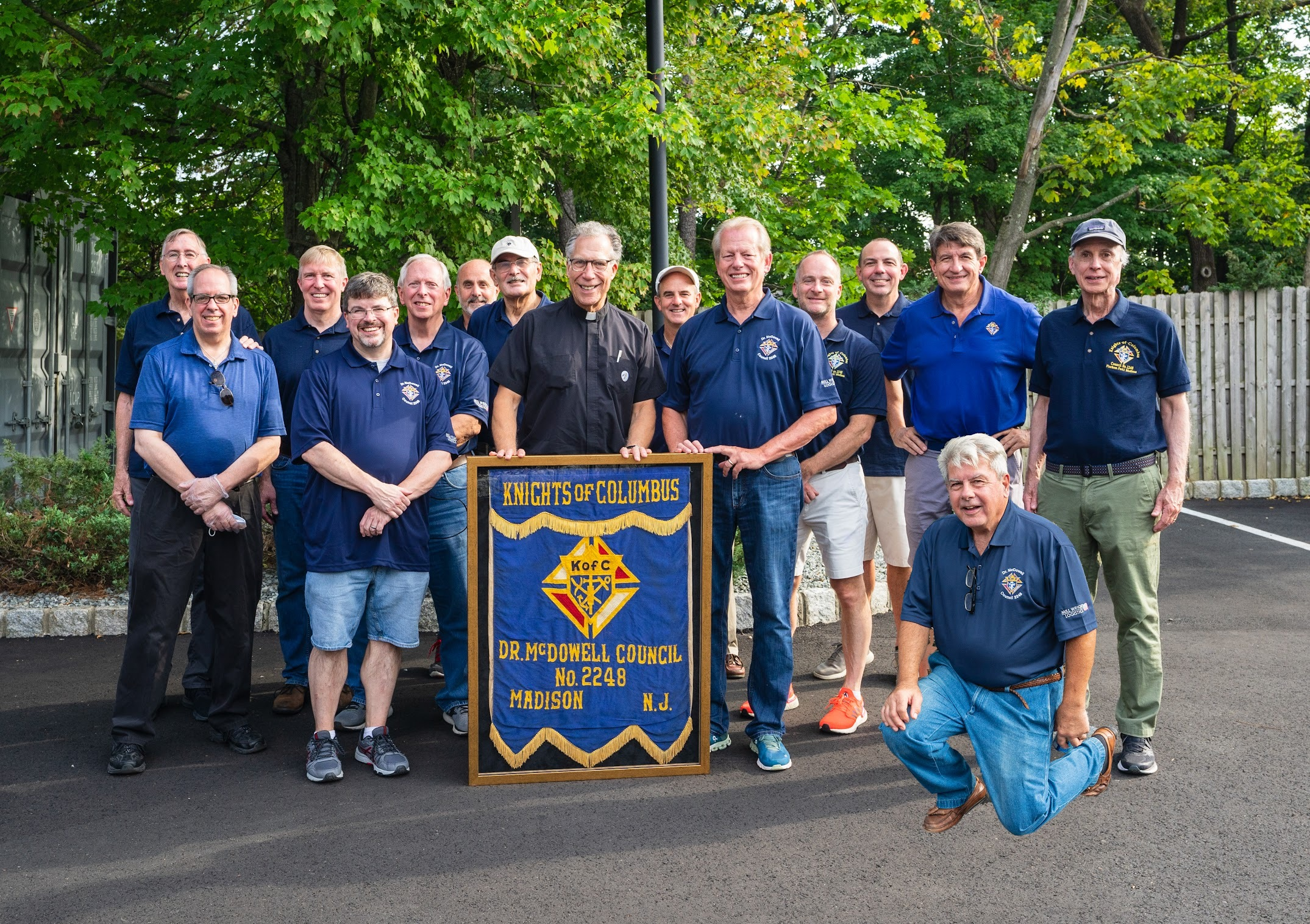 Knights of Columbus celebrate their  year anniversary at SVM.