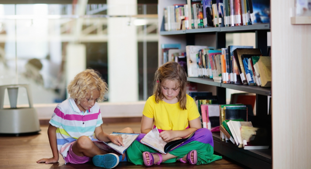Helping your child flourish through continued learning and reading!