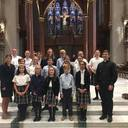 Middle School Students Make Pilgrimage to the Cathedral of St. John the Baptist