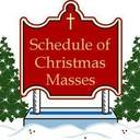 Christmas Masses and Office Schedule