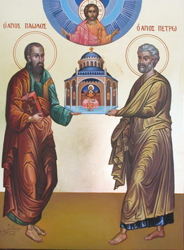 Ss. Peter and Paul, Founders of the Church at Rome