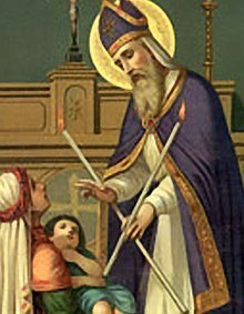 Blessing of Throats - Feast of St. Blaise
