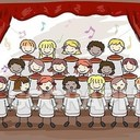 Children's Choir rehearsal are Mondays at 4:15 PM ( Grade 3 -8)thru Christmas
