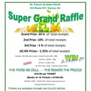 SUPER GRAND RAFFLE (Drawing June 10, 2018 4:00 PM)