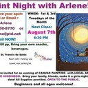 PAINT NIGHT with ARLENE - Next Class is  Tues., July 10th, 2018