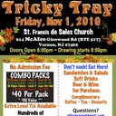 Tricky Tray (Friday Nov. 1st, 2019) -Doors Open 6:00 PM Calling begins at 8:00 PM