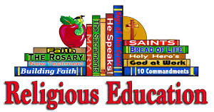 Religious Education Classes will begin the end of September 22..Click here for more info