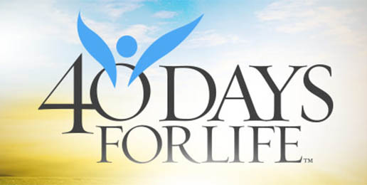 Click on this photo to register to participate in 40 Days for Life with All Saints Church