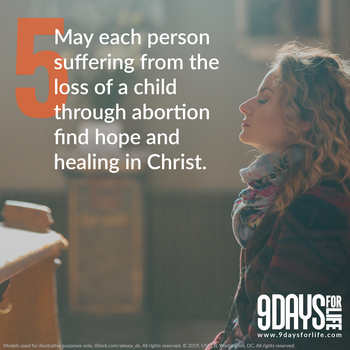 9 Days for Life Novena - Day 5