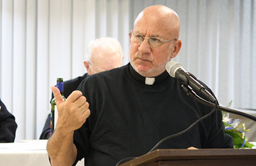 Protest Priest: 'We need to teach our men to be men'