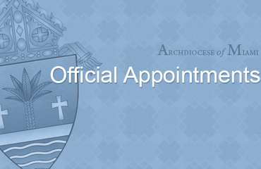 Official appointments - October 2019