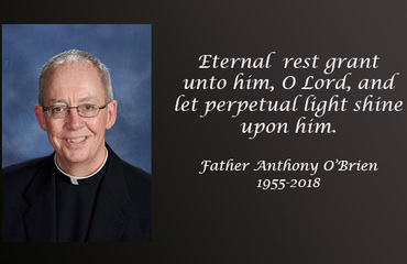 Father Anthony O'Brien, 63, 'gifted preacher, brilliant mind'
