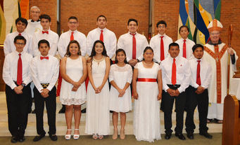 Congratulations to Our Confirmandi!