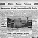 From our History: Assumption School opens March 20, 1962