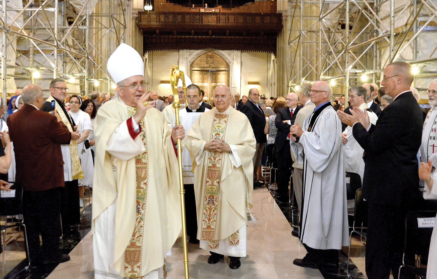 Congratulations Bishop O'Hara on your retirement!