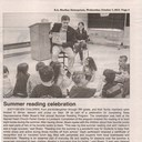 Summer Reading Program with Rep. Peter Breen