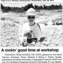 A Rockin' Good Time At A Workshop
