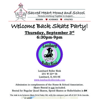 Welcome Back Skate Party!