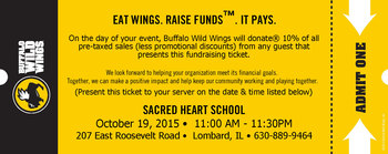 Benefit Night - Buffalo Wild Wings