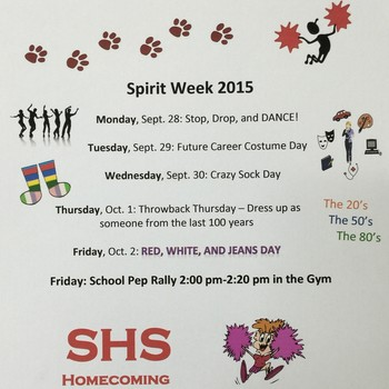 Spirit Week 2015 - Wednesday